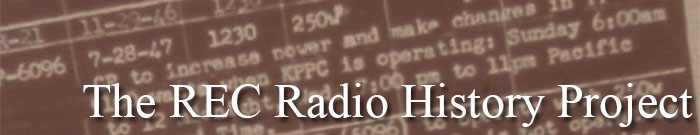 The REC Radio History Project